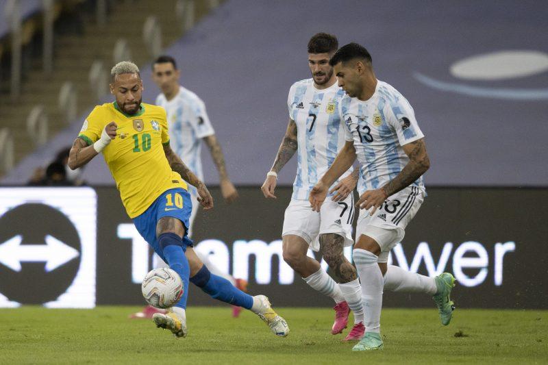 Argentina vence o Brasil no Maracanã e conquista a Copa América – Foto: Lucas Figueiredo/CBF/ND