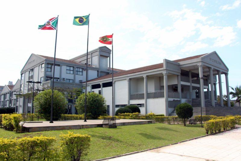 Tribunal do Júri ocorreu nesta quinta-feira (22) no Fórum da comarca de Criciúma – Foto: Fernanda de Mamam/Fórum Criciúma/ND