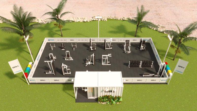 Imagem do projeto da Secretaria de Cultura, Esporte e Lazer de Florianópolis para a Beira-Mar Norte – Foto: Divulgação/PMF/ND