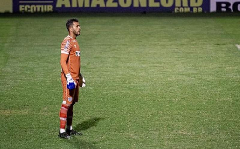 Goleiro Glédson relembrou chegada ao Avaí e comentou momento do time – Foto: Reprodução/Instagram