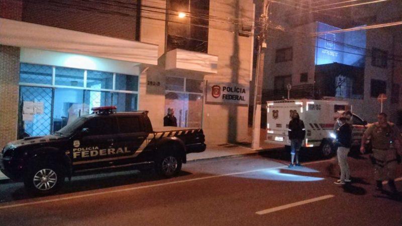 Crime aconteceu na frente da sede da PF – Foto: Matheus Kojak/Divulgação/ND