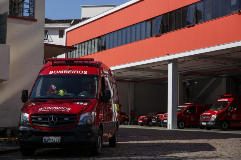 Os Bombeiros Voluntários foram acionados, mas não conseguiram reverter o quadro e o bebê morreu durante a madrugada – Foto: Carlos Júnior/Divulgação ND