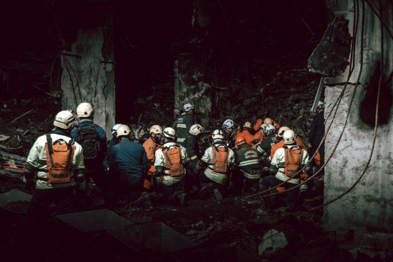 Buscas contaram com o apoio de 150 profissionais, entre militares e técnicos – Foto: Rodrigo Ziebell/Ascom GVG/Reprodução/ND
