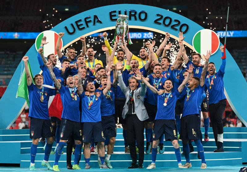 Itália volta a conquistar a Europa – Foto: Twitter/Reprodução/ND