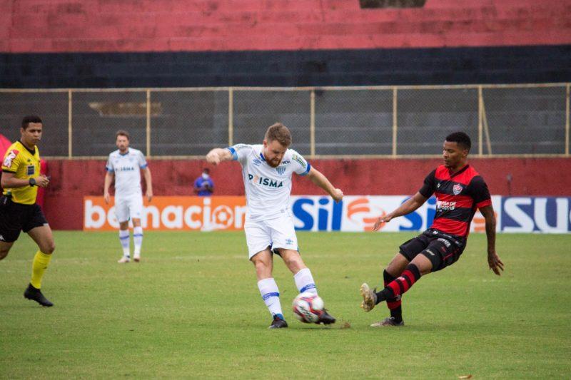 Leão da Ilha fica no zero e traz um ponto do Barradão – Foto: André Palma Ribeiro/Avaí FC
