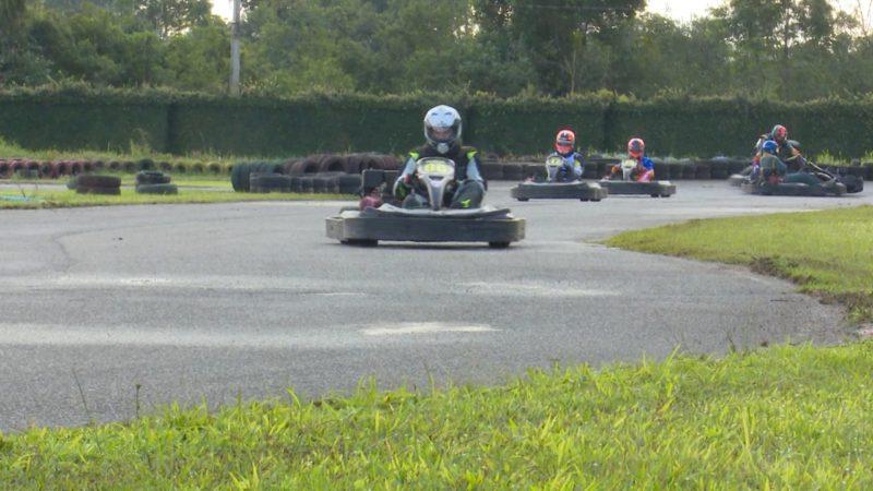 1ª Etapa do Campeonato NDTV de Kart Amador aconteceu no domingo (18) – Foto: Adriano Mendes/NDTV