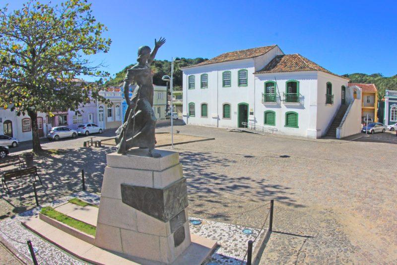 Laguna completa 345 anos de fundação e é a terceira mais antiga de Santa Catarina – Foto: Elvis Palma/Prefeitura de LagunaND