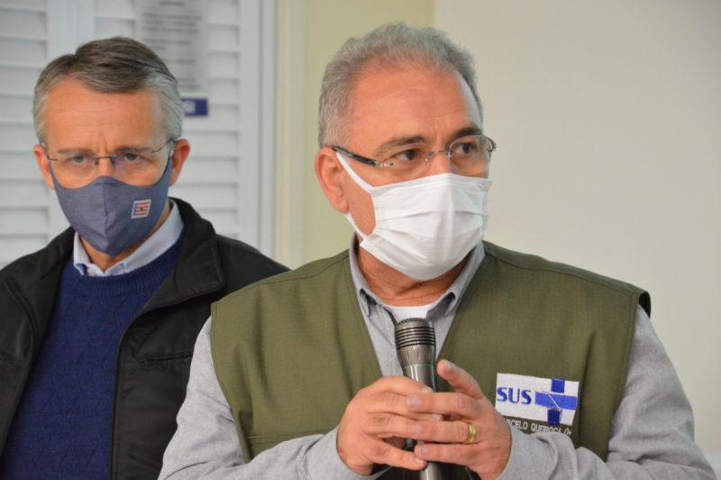 Marcelo Queiroga afirma que Bolsonaro pediu para rever vacinação de adolescente – Foto: Gabriel Silva/Comunicação HSI/Divulgação/ND