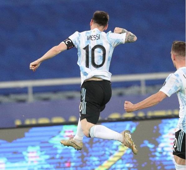 Messi é eleito melhor jogador da Copa América – Foto: Instagram/Reprodução/ND