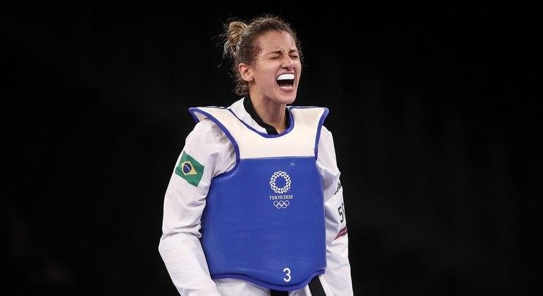 Milena Titoneli vai brigar pelo bronze no taekwondo – Foto: GASPAR NÓBREGA/ COB