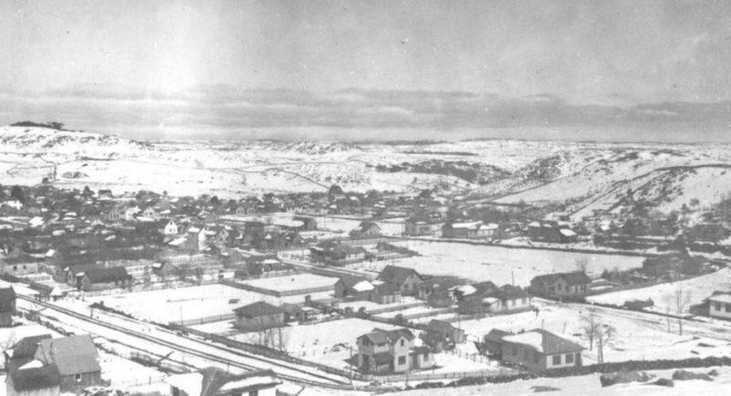 Neve já cobriu toda a cidade de São Joaquim – Foto: Reprodução/ND