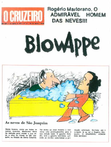 """Charge em questão publicada no """"O Cruzeiro"""" – Foto: Reprodução/ND"""