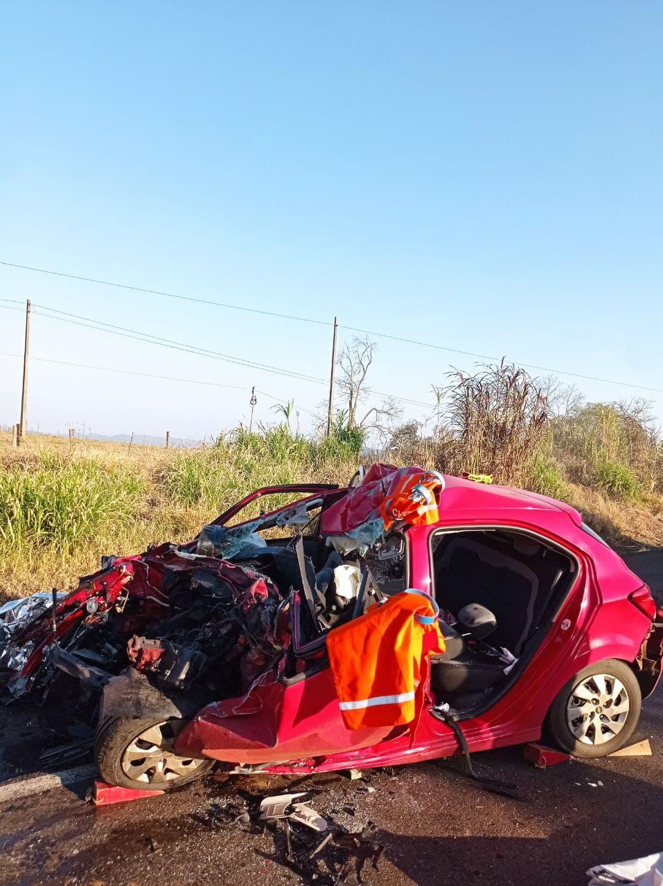 Família inteira morre em acidente na BR-282 em Santa Catarina