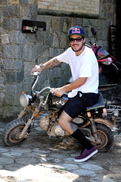 Pedro Barros no Rio Tavares – Foto: Maro Cezar
