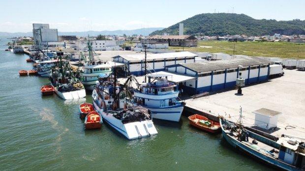 Porto de Laguna aumentou em 113% o faturamento em 2020 – Foto: Foto: Divulgação/Arquivo/Porto de Lagunaau