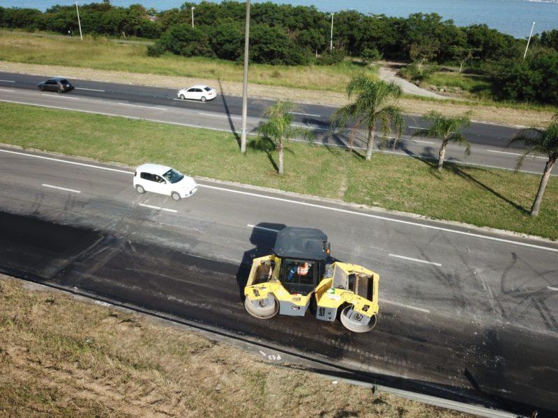 O projeto prevê também a implantação de ciclovia, passeio, urbanização e iluminação de todo o trecho – Foto: Leonardo Sousa/PMF