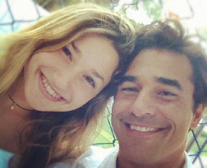 Sasha Meneghel e o pai Luciano Szafir – Foto: Reprodução/ Instagram