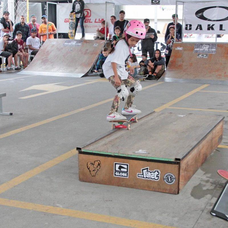Fadinha venceu seu primeiro Campeonato Brasileiro aos 7 anos em Blumenau – Foto: Reprodução/Redes Sociais/ND