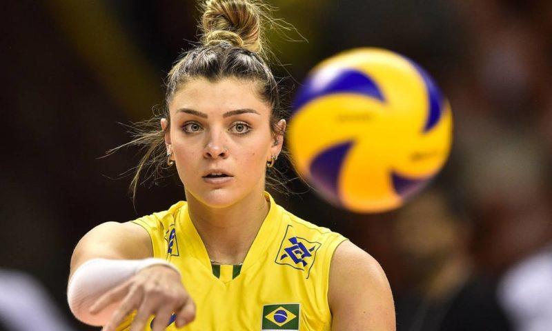 Catarinense de Nova Trento, Rosamaria Montibeller, 27 anos, será titular na semifinal – Foto: CBV/Divulgação