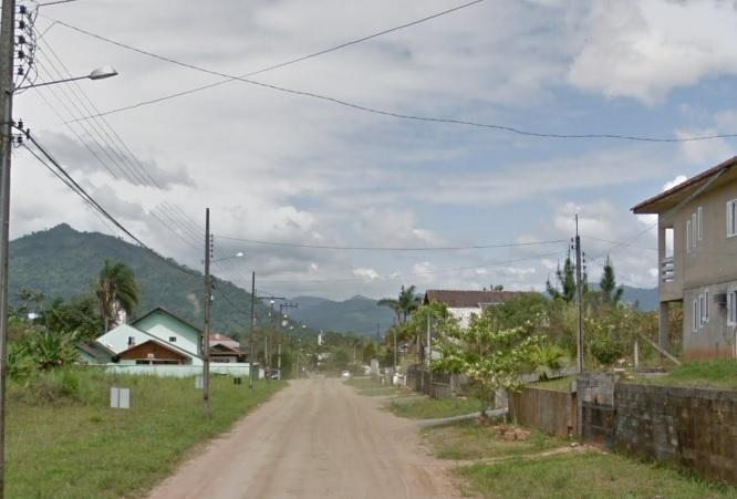 Confusão ocorreu no bairro Imigrantes, em Timbó. – Foto: Reprodução/Google Maps/ND