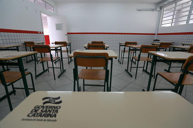 Governo de Santa Catarina enviou proposta que estabelece piso do magistério em R$ 5 mil – Foto: Julio Cavalheiro/Secom/ND