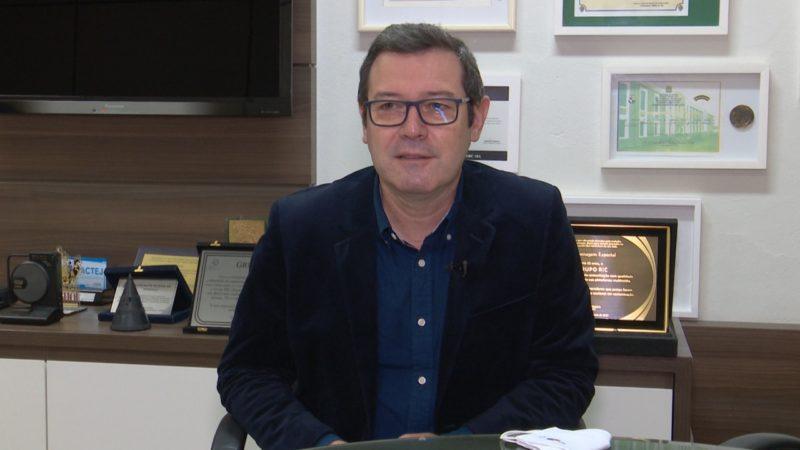 Silvano Silva, diretor regional do Grupo ND. – Foto: Reprodução TV