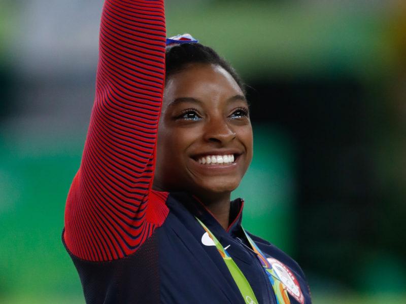 Simone Biles decidiu não competir na ginástica artística nas Olimpíadas de Tóquio – Foto: Wikimedia Commons