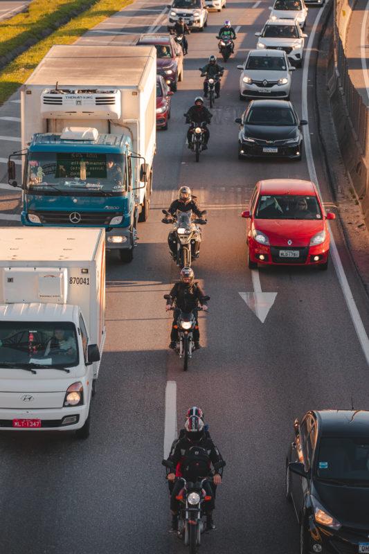 Mobilização para evitar o colapso total da BR-101 em Santa Catarina – Foto: José Somensi Fotografia/ND