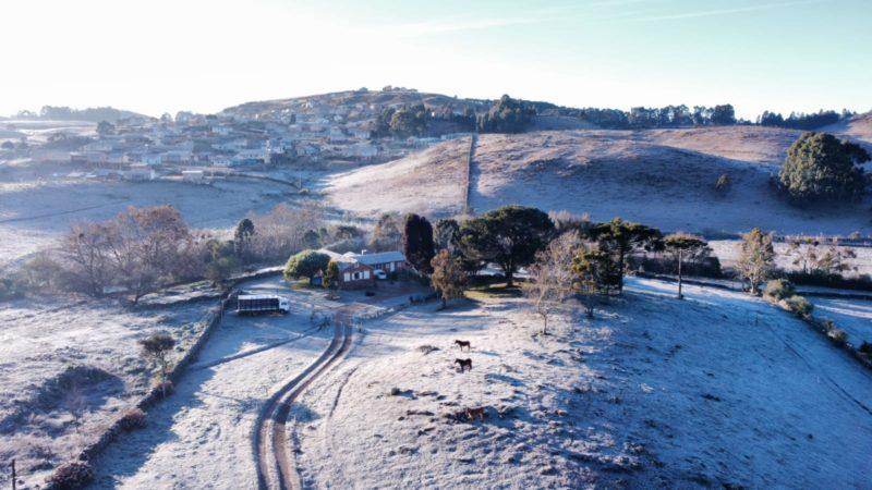 Santa Catarina tem nova previsão de frio com geadas severas – Foto: Wagner Urbano/Divulgação/ND