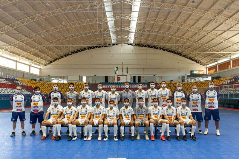 Equipe de Umuarama vinha a Santa Catarina para jogo contra o Jaraguá do Sul – Foto: LNF/Divulgação