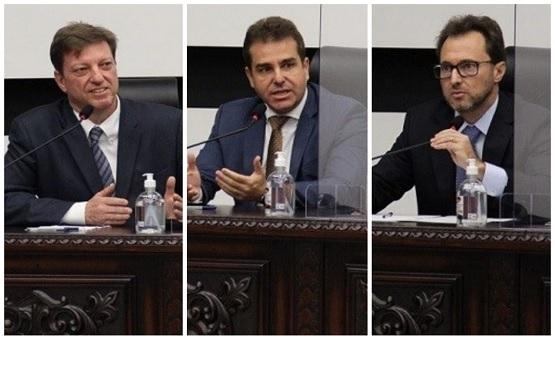 Os três escolhidos pelo TJSC serão agora submetidos à indicação que é feita pelo governador Carlos Moises. – Foto: Ângelo Medeiros
