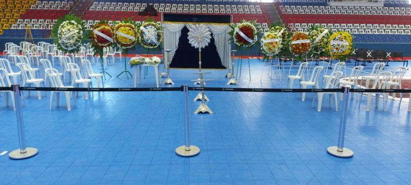 Homenagem acontece no ginásio da cidade – Foto: Gustavo Duarte/Divulgação/ND