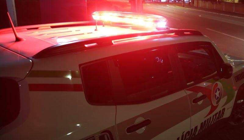 Jovem ainda ameaçou companheira com um punhal em Schroeder – Foto: Carlos Jr/ND