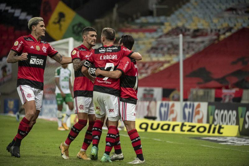 Flamengo vira e vence a Chapecoense no Maracanã – Foto: Alexandre Vidal/CRF/Divulgação