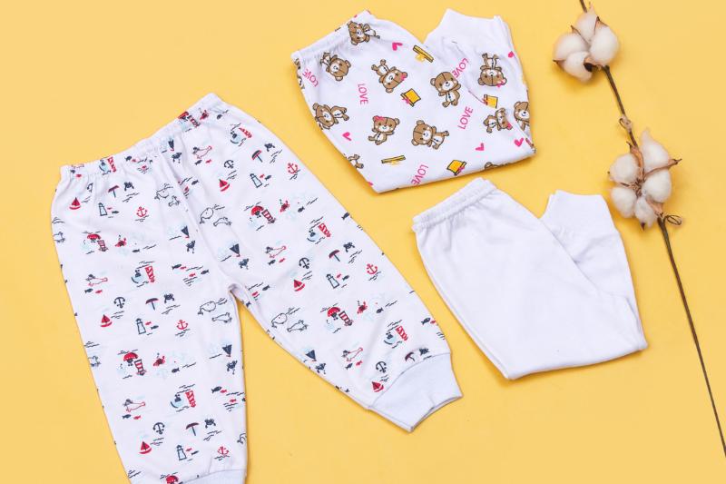 As calças são itens fundamentais no enxoval do bebê – Foto: Divulgação/19ª FIP Baby – A feira do bebê