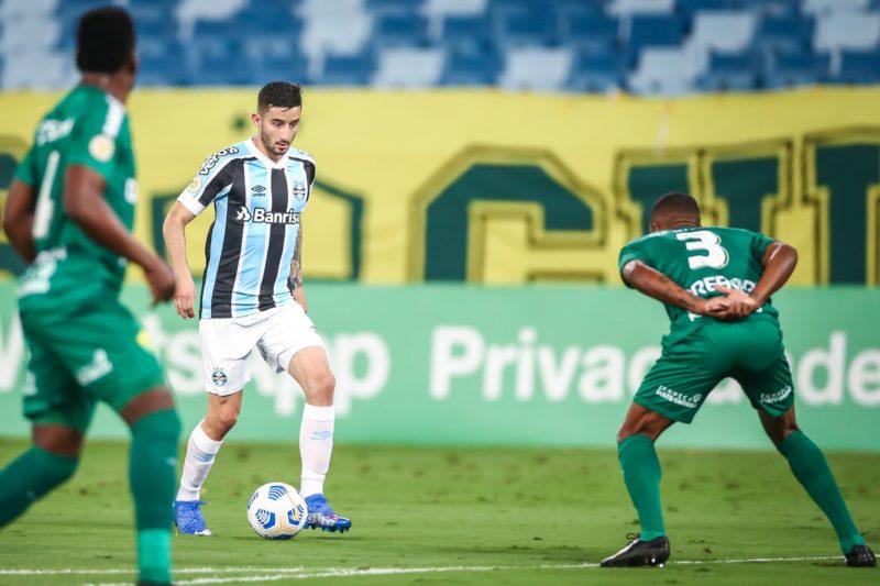 Volante gremista volta a jogar pela seleção paraguaia em setembro – Foto: Lucas Uebel/Grêmio FBPA