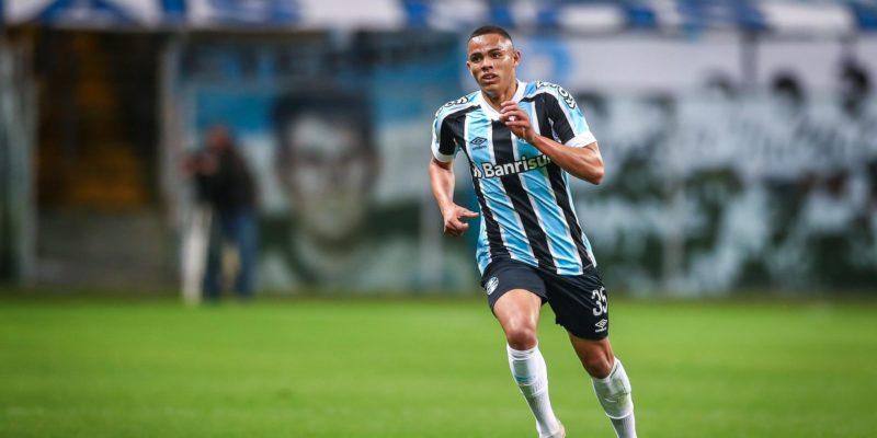 Lateral destacou a melhora na situação do Tricolor no Campeonato Brasileiro – Foto: Foto: Lucas Uebel/Grêmio FBPA