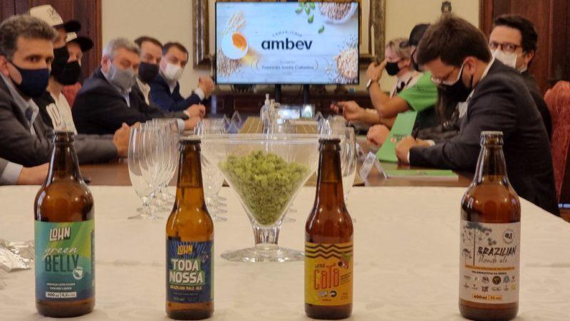 SC passa a contar com uma cerveja 100% catarinense – Foto: Peterson Paulo/SECOM