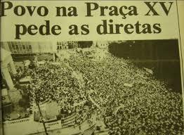 Multidão de direita esquerda junta em Florioa sem confusão – Foto: Arquivo