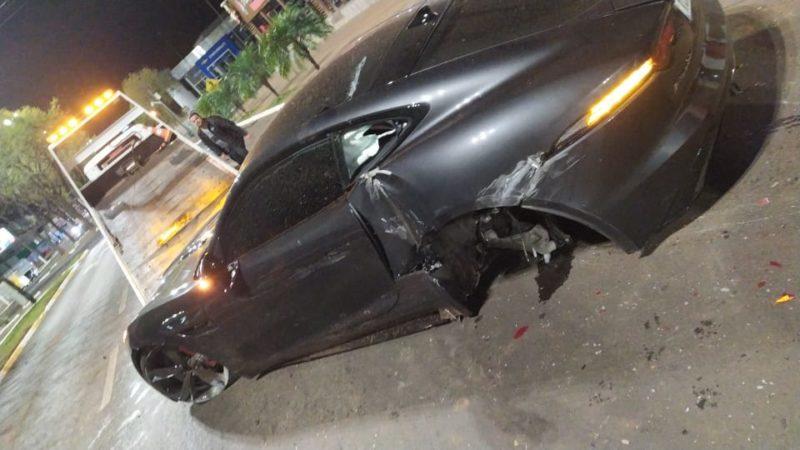 Acidente aconteceu no começo da madrugada de sábado – Foto: Internet/ND