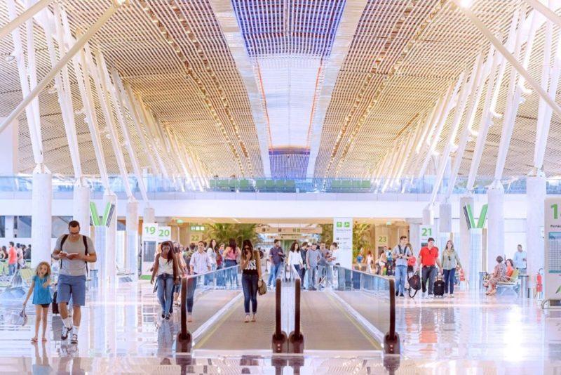 Aeroporto de Brasília teve obras de modernização e expansão – Foto: Divulgação/ND