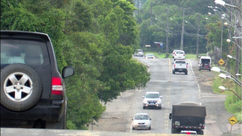 Rodovia Alexandre Beloli será revitalizada em Criciúma, no Sul de SC – Foto: Reprodução/NDTV