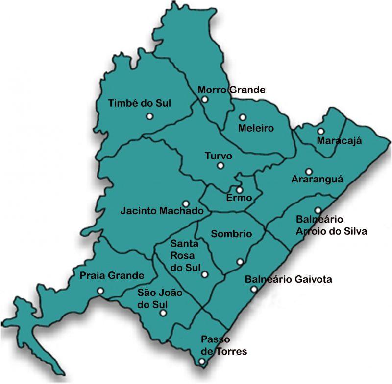 A região tem 15 município e tem baixos índices de ocupação populacional, mas bons níveis na economia concentrada. – Foto: Divulgação