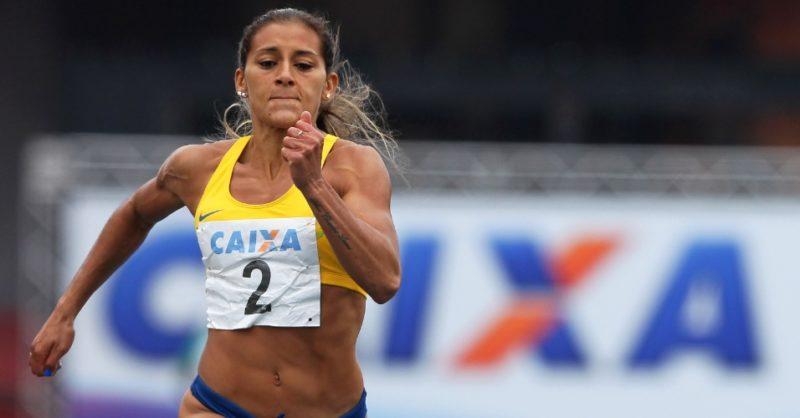 Ana Claudia Lemos representou o Sul de SC nas Olimpíadas de Tóquio – Foto: Wagner Carmo/CBTa/Arquivo/ND