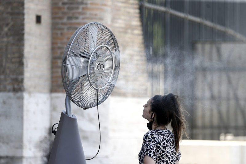The scorching heat in Italy throughout the week;  Extreme heat warning lowered to day 20 - Photo: Cecilia Fabiano / Associated Press / Estado Content