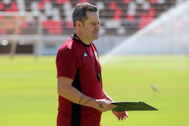 Argel Fuchs segue no do Botafogo-SP – Foto: José Bazzo/Agência Botafogo/ND