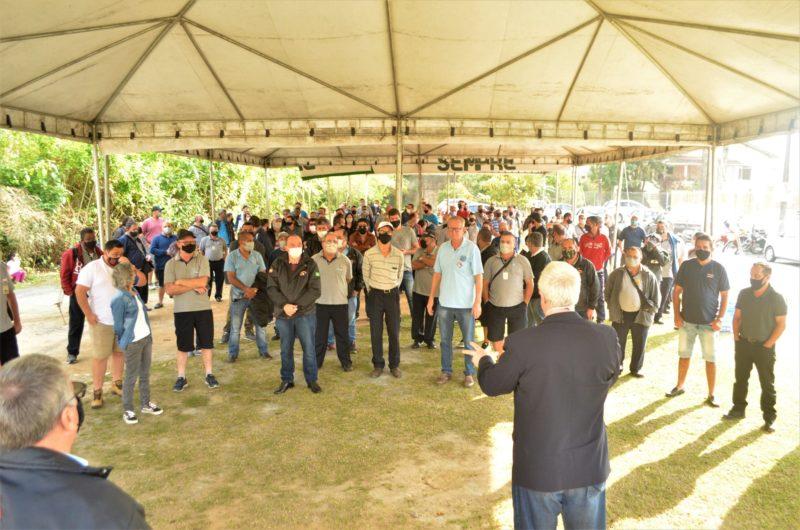 Trabalhadores do transporte coletivo decidiram dar continuidade às negociações com a Blumob – Foto: Divulgação/Sindetranscol