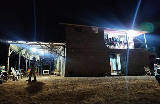 Vítima teria sido atingida na parte externa do bar – Foto: Polícia Militar/ND