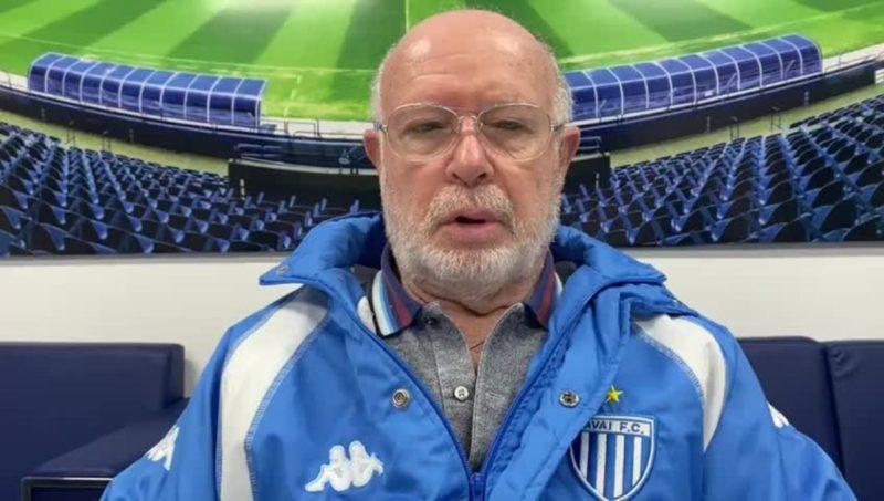 Franscico Battitotti, contas rejeitadas no Avaí. – Foto: Avaí/Divulgação