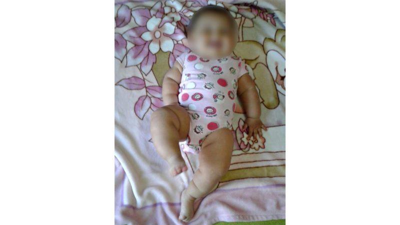 Amanda tem apenas sete meses – Foto: Arquivo pessoal/ND